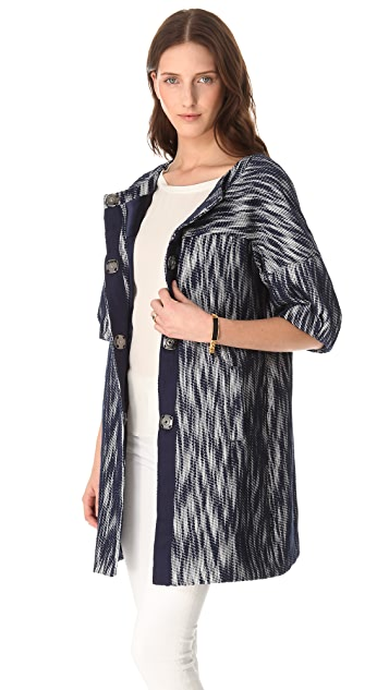 Milly Bianca Day Coat