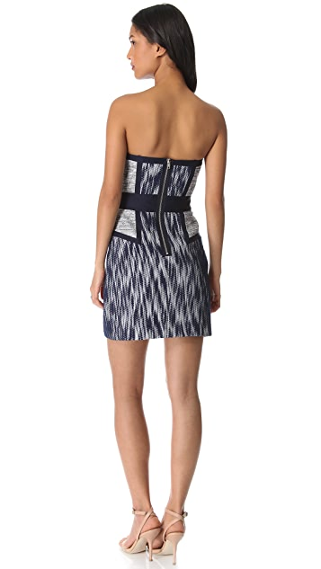 Milly Dianna Strapless Dress