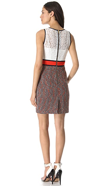Milly Francesca Combo Dress