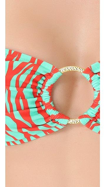 Milly Barbados Bandeau Bikini Top