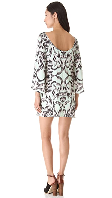 Milly Butterfly Sleeve Dress
