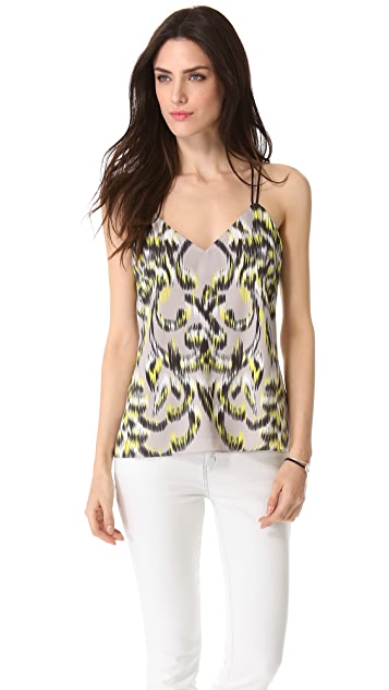 Milly V Double Strap Top