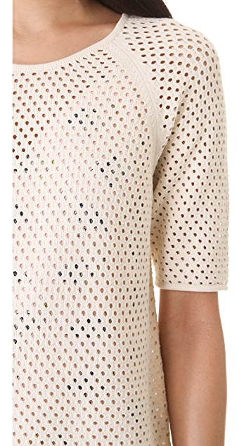 Milly Erin Net Pullover