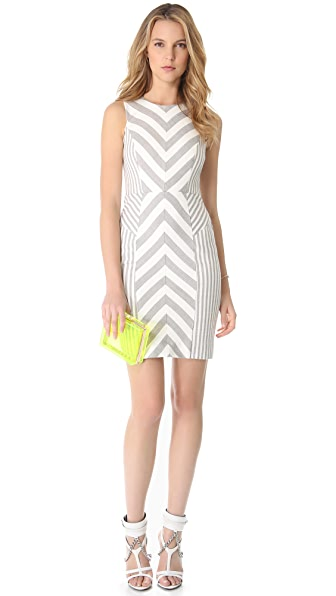 Milly Striped Sheath Dress