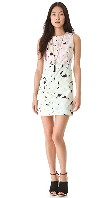 Milly Combo Print Shift Dress