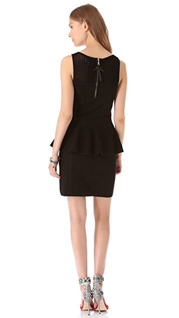 Milly Nicole Peplum Dress