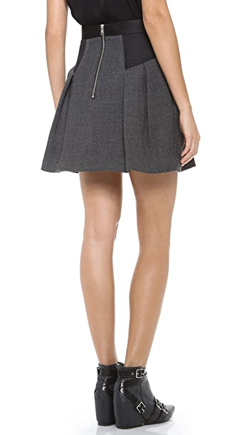 Milly Raquel Flare Skirt