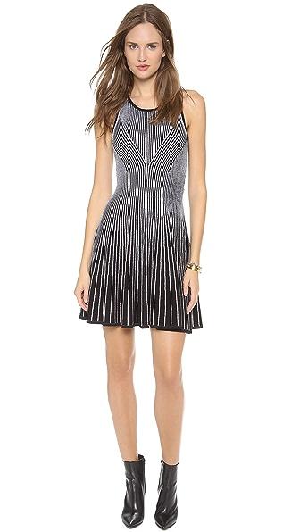 Milly Two Tone Rib Dress