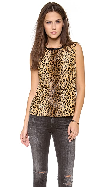 Milly Leopard Shell