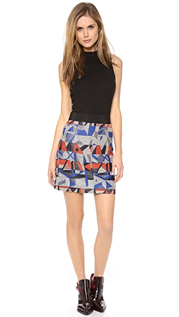 Milly Mini Pencil Skirt