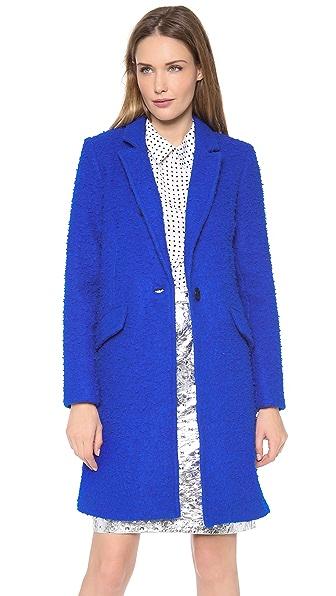 Milly Textured Felt Coat