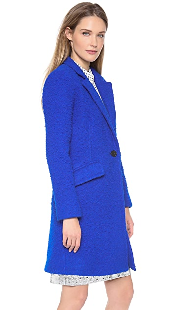 Milly Textured Felt Coat