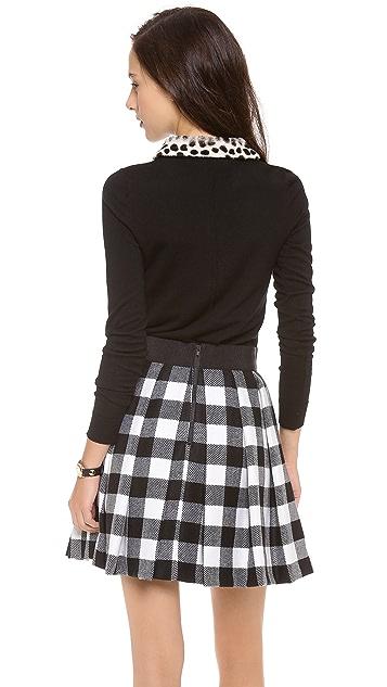 Milly Dalmatian Collar Sweater