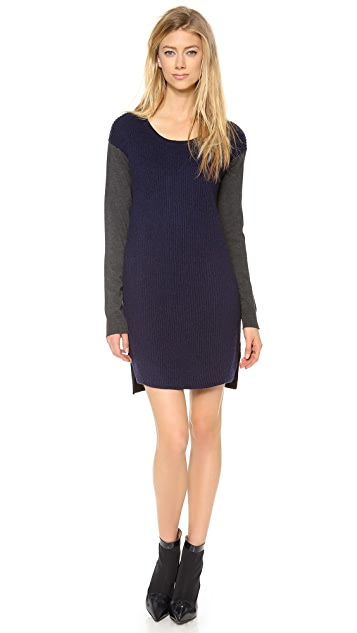 Milly Colorblock Knit Dress