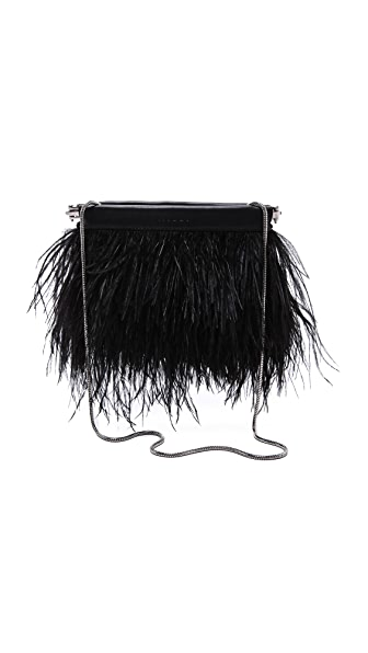 Milly Feather Clutch