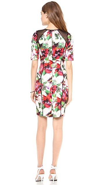 Milly Paneled Dress