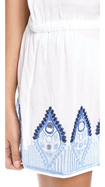 Milly Drawstring Tunic Cover Up