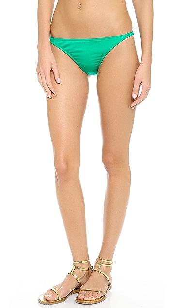Milly Punta Cana String Bikini Bottoms