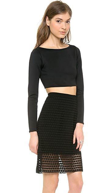 Milly Cropped Top