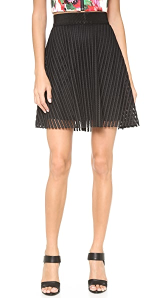 Milly Flare Miniskirt