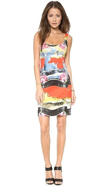 Milly Slim Paneled Dress