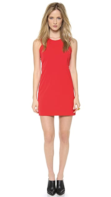 Milly Sleeveless Shift Dress