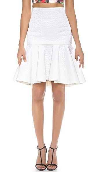 Milly Valencia Flare Skirt