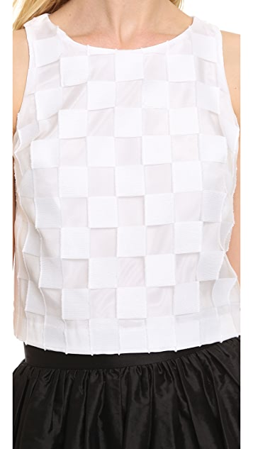 Milly Sleeveless Crop Top