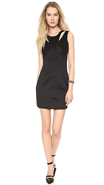 Milly Double Strap Sheath Dress