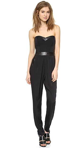 Milly Bustier Jumpsuit