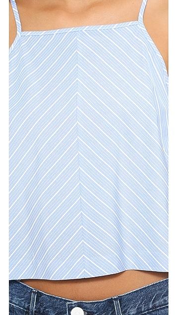 Milly Stripe Crop Top
