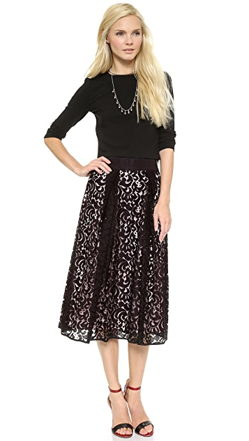Milly Lace Skirt