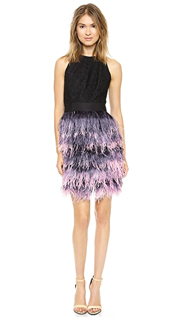 Milly Blair Feather Dress