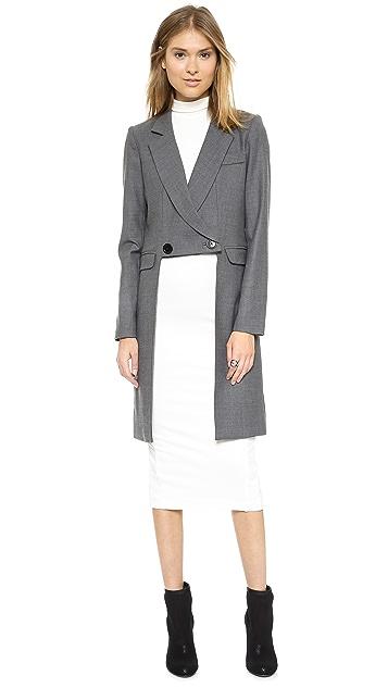 Milly Cutaway Coat