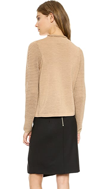 Milly Funnel Neck Sweater