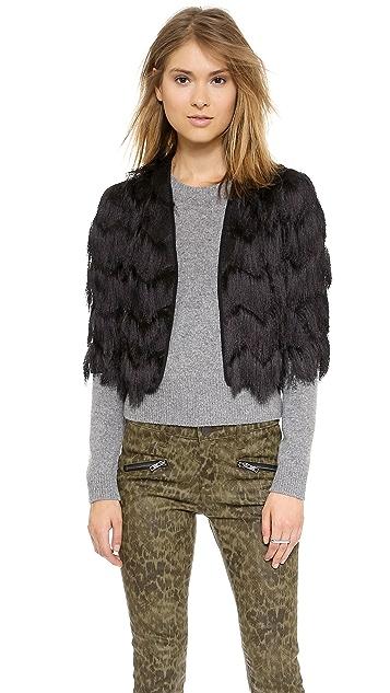 Milly Fringe Bolero Jacket
