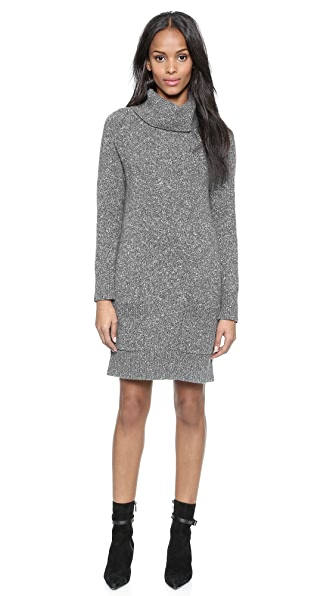 Milly Heather Pocket Sweater Dress