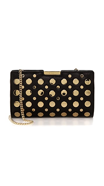 Milly Cara Stud Small Frame Clutch