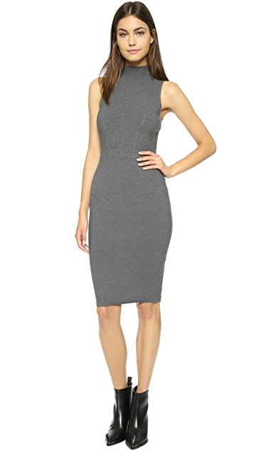 Milly Structured Sheath Dress