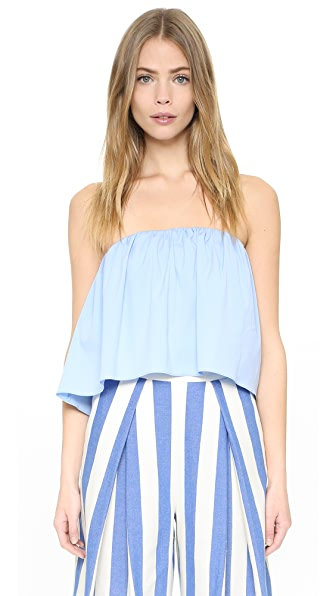 Milly Strapless Top