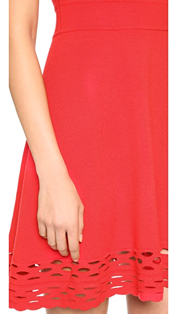 Milly Chain Link Flare Dress