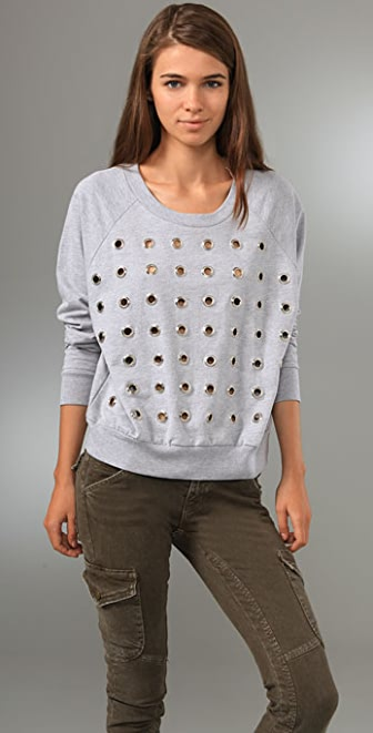 MINKPINK Eye Spy Sweater