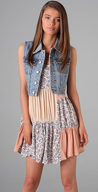 MINKPINK Dazed and Confused Vest