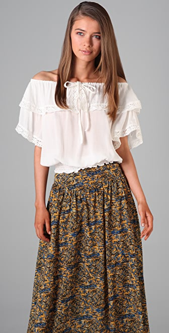 MINKPINK Hopeless Romantic Blouse
