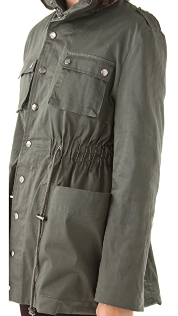 MINKPINK Enlisted Anorak Coat