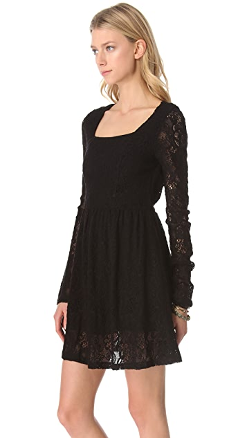 MINKPINK Lost Innocence Lace Dress
