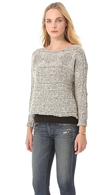 MINKPINK Cable Guy Sweater