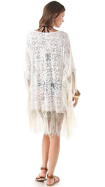 MINKPINK Magic Eye Tassel Cover Up Dress