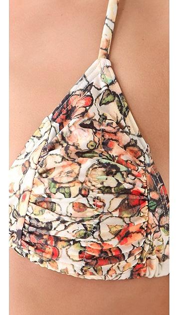 MINKPINK Zambia Triangle Bikini Top