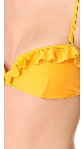 MINKPINK Jewel Frill Bikini Top